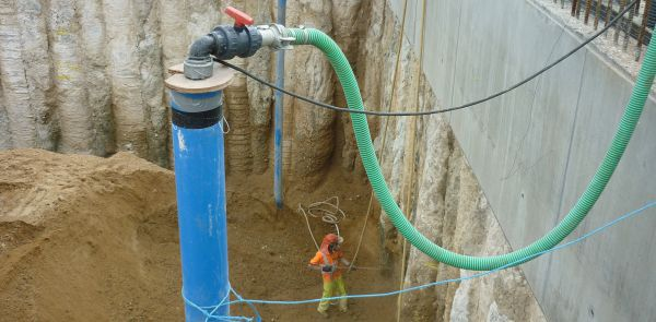 Groundwater Dewatering Project Dewatering