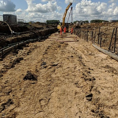 Project Dewatering involved in the lastest Phase of this Strategic 'New Town' Development